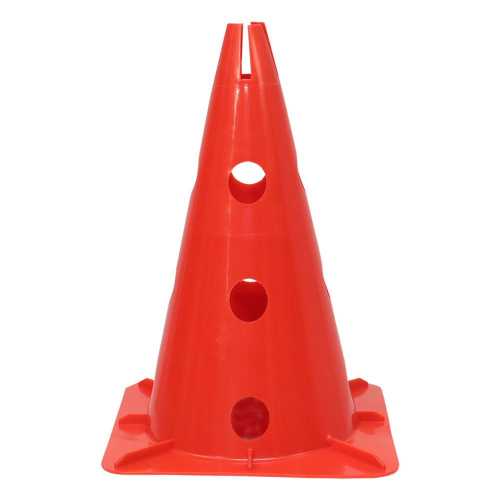 Softee Cone With Stand For Pole 32 cm Red