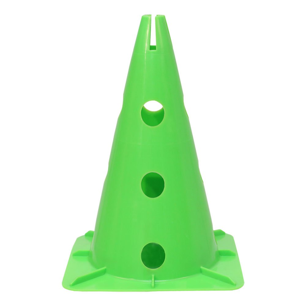 Softee Cone With Stand For Pole 32 cm Green