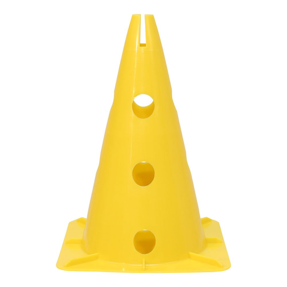 Softee Cone With Stand For Pole 32 cm Yellow