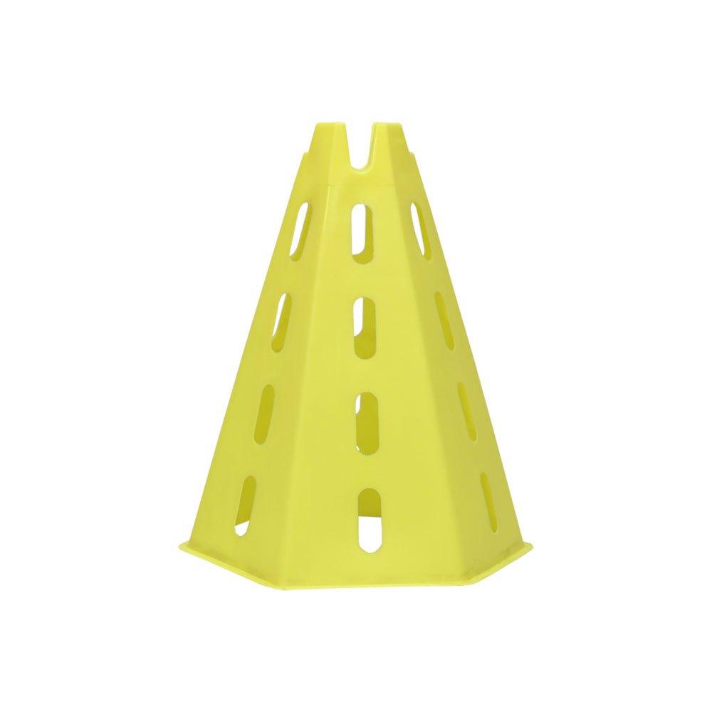 Softee Cône Hexagonal 31 x 24 x 20.5 cm Yellow