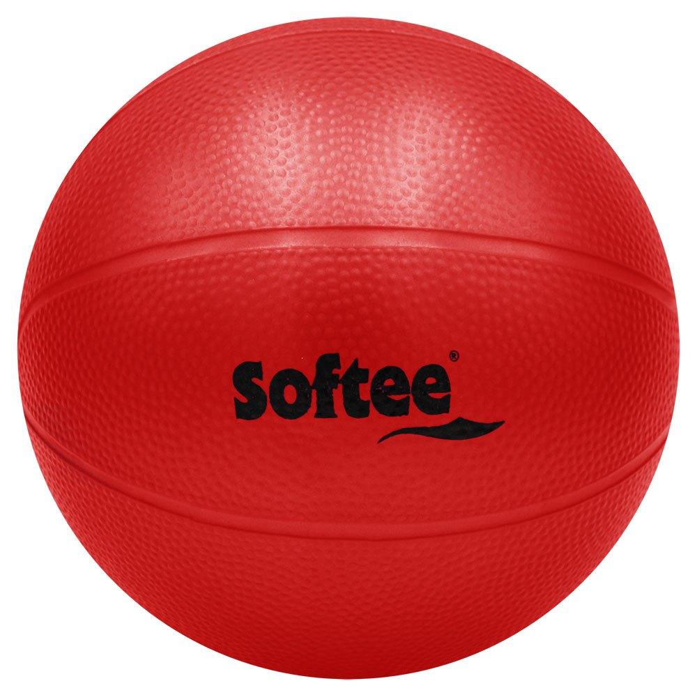 Softee Médicine Ball Pvc Rugueux Rempli D´eau 4kg 4 kg Red