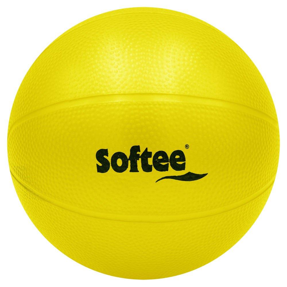 Softee Médicine Ball Pvc Rugueux Rempli D´eau 4kg 4 kg Yellow