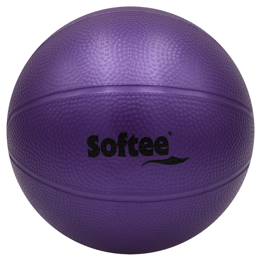 Softee Pvc Medicine Ball Water Rough 2.5 Kg 5 Kg Purple