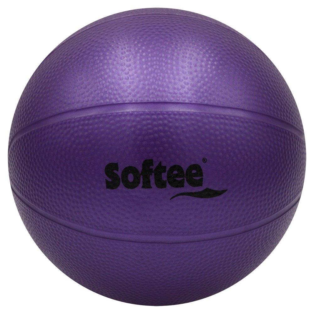 Softee Médicine Ball Pvc Rugueux Rempli D´eau 4kg 4 kg Purple