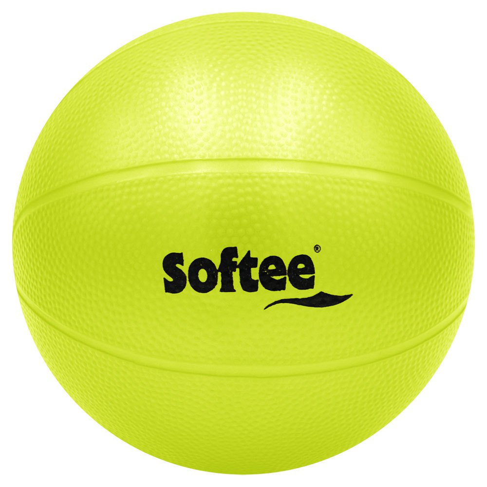 Softee Pvc Medicine Ball Water Rough 1.5 Kg 5 Kg Yellow