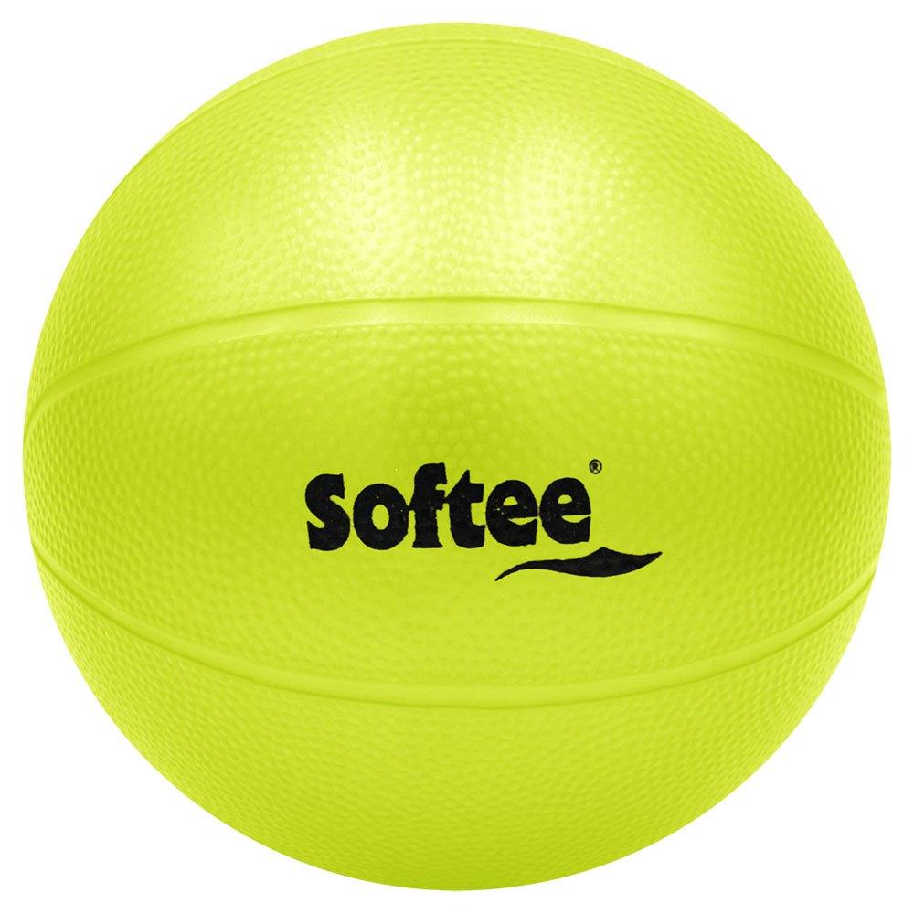 Softee Pvc Medicine Ball Water Rough 2.5 Kg 5 Kg Yellow