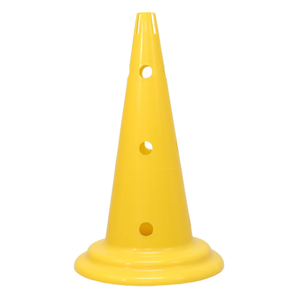 Softee Cone With Stand For Pole 50 cm Yellow