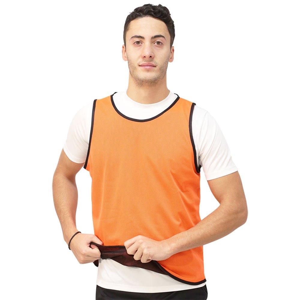 Softee Chasuble Réversible Junior Orange / Black