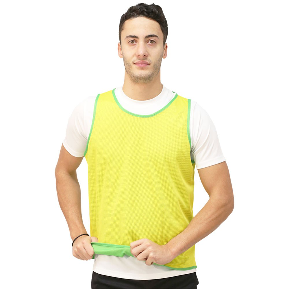 Softee Chasuble Réversible Junior Green / Yellow