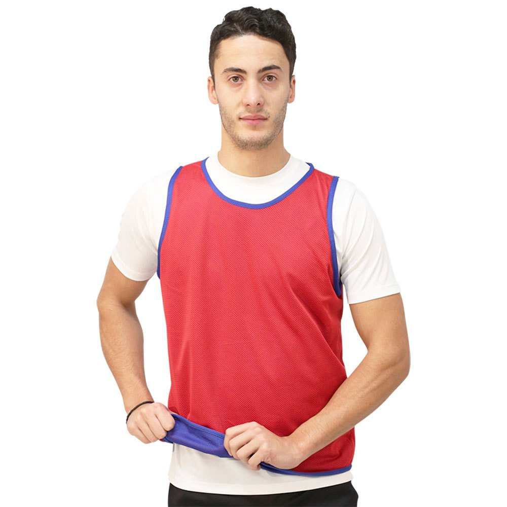 Softee Chasuble Réversible Junior Blue / Red