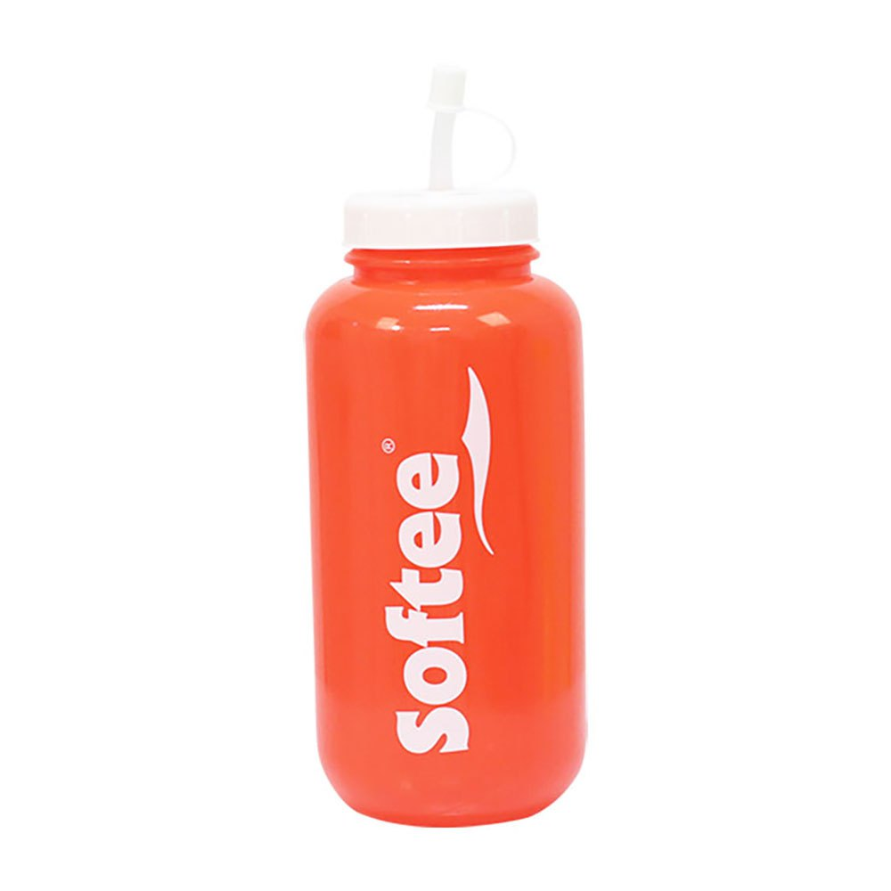 Softee Bottle With Straw 1000 Ml One Size Red