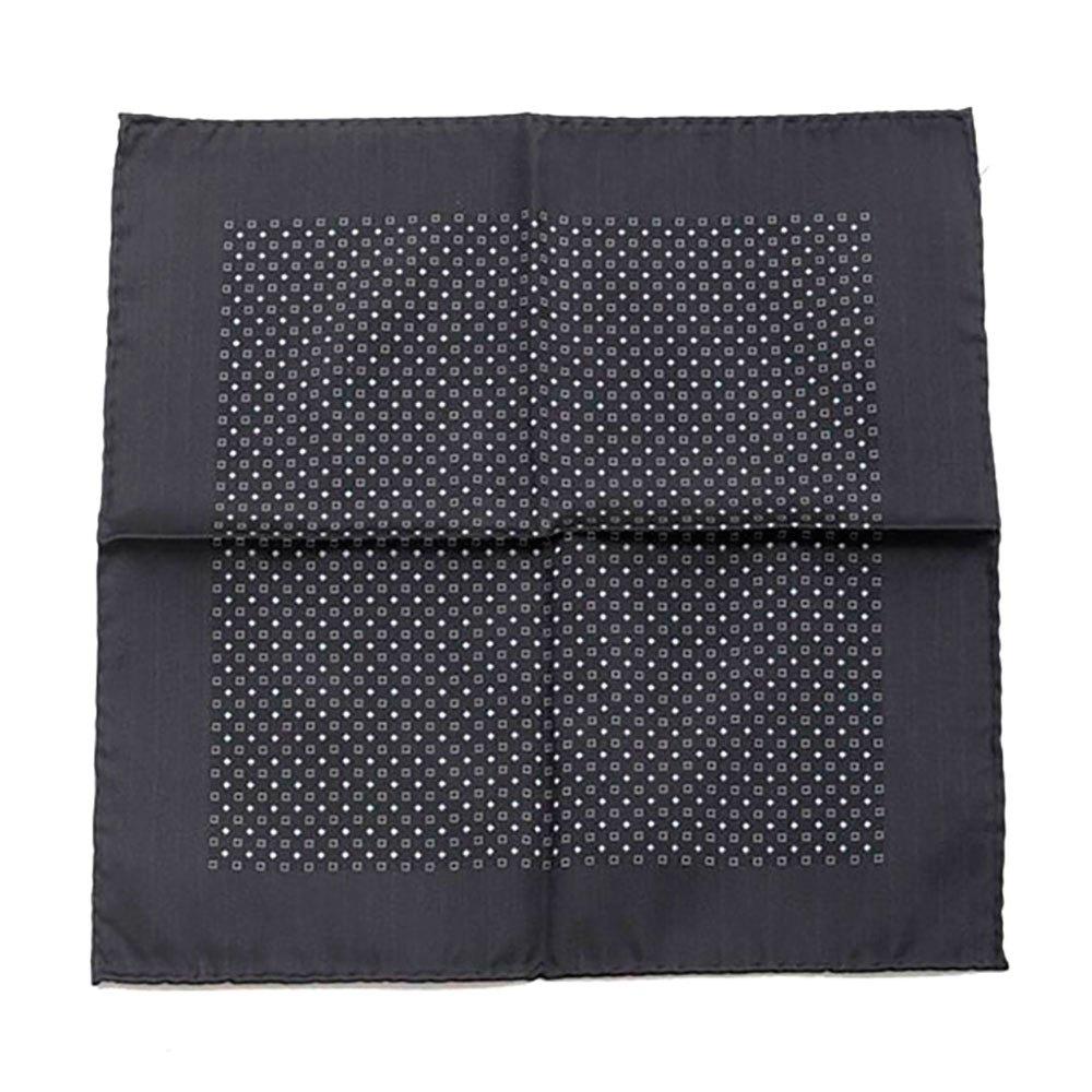 Dolce & Gabbana 733136 Silk Handerkerchief One Size Black