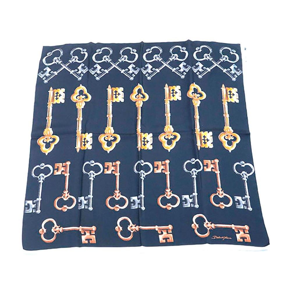 Dolce & Gabbana 733193 Silk Foulard One Size Black