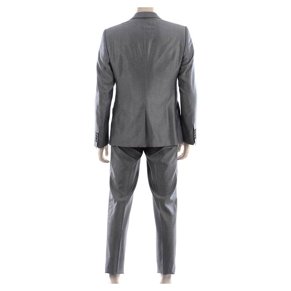 Dolce & Gabbana 733353 1 Button Suit 54 Grey