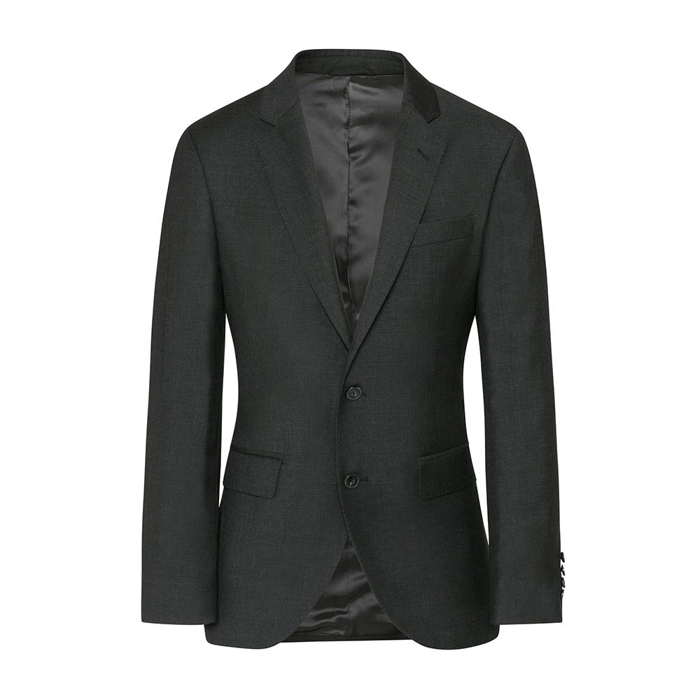 Hackett Plain Wool Button 46 Grey