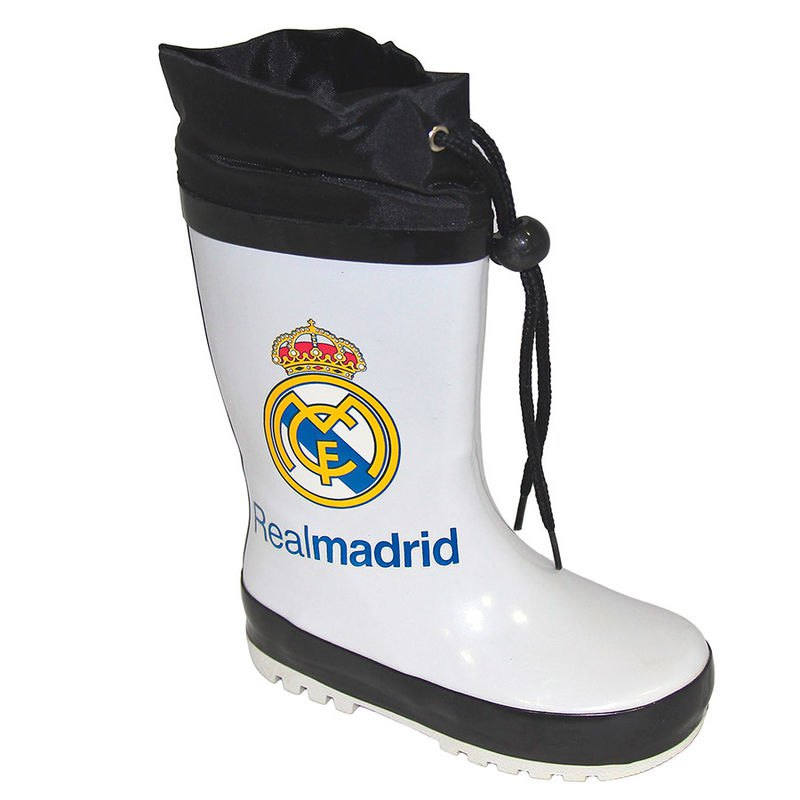 Real Madrid Rain Boots EU 24 White / Black