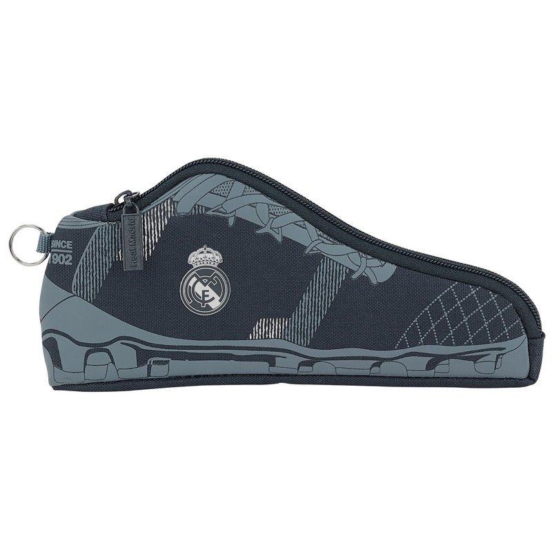Safta Trousse Real Madrid En Forme De Chaussure De Sport One Size Black