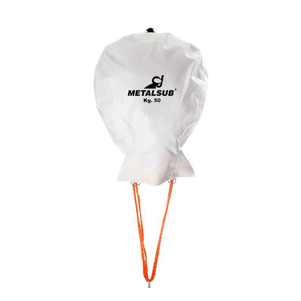 Metalsub Double Valve Lifting Balloon 200 kg White Tauchbojen Double Valve Lifting Balloon