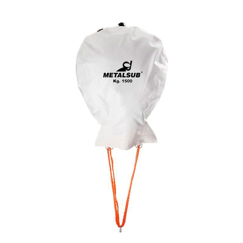 Metalsub Double Valve Lifting Balloon 1000 kg White Tauchbojen Double Valve Lifting Balloon