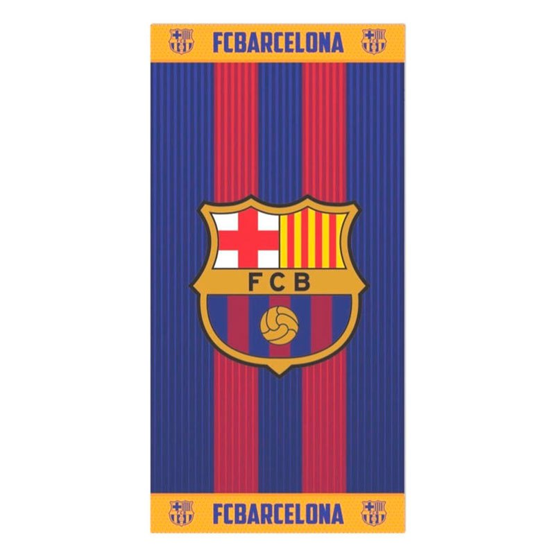 Fc Barcelona Cotton One Size Blue / Garnet / Orange