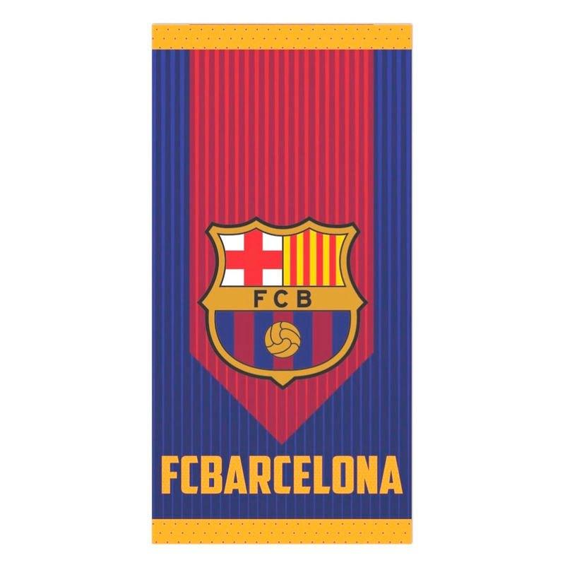 Fc Barcelona Serviette Microfibre One Size Garnet / Blue