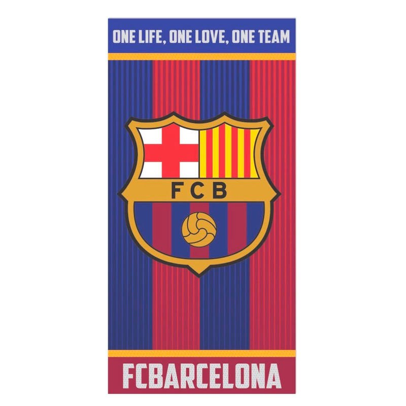 Fc Barcelona One Life Cotton One Size Blue / Garnet