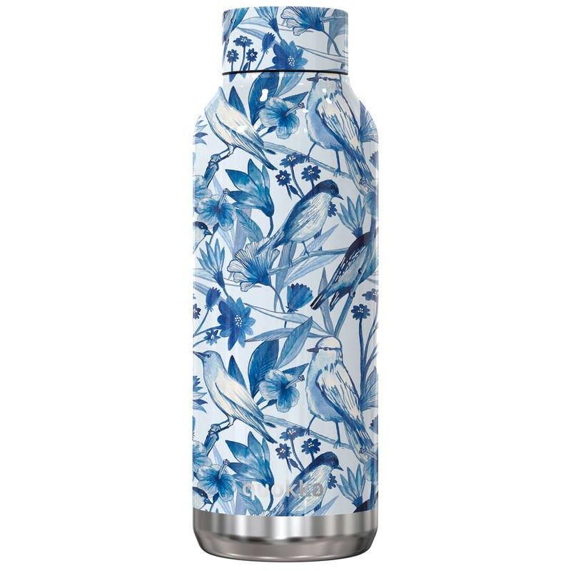 Quokka Bouteille Solid Moienau En Porcelaine 510ml One Size Blue / White