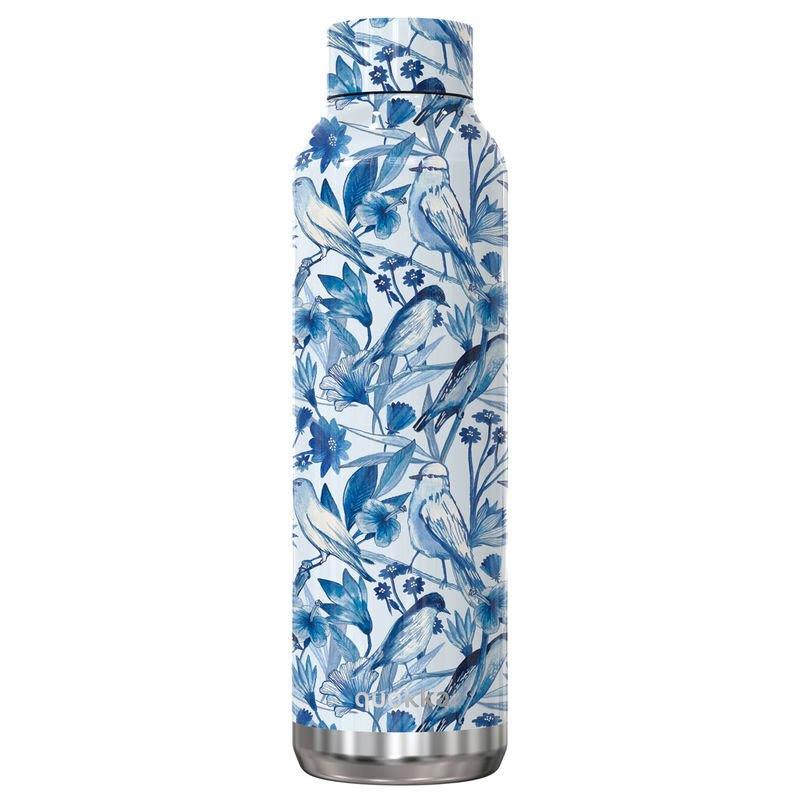 Quokka Bouteille Solid Moienau En Porcelaine 630ml One Size Blue / White