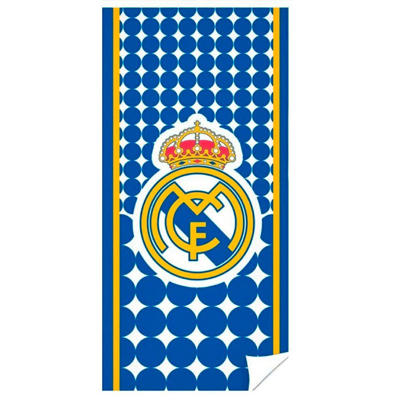 Real Madrid Dots Microfibre One Size Blue