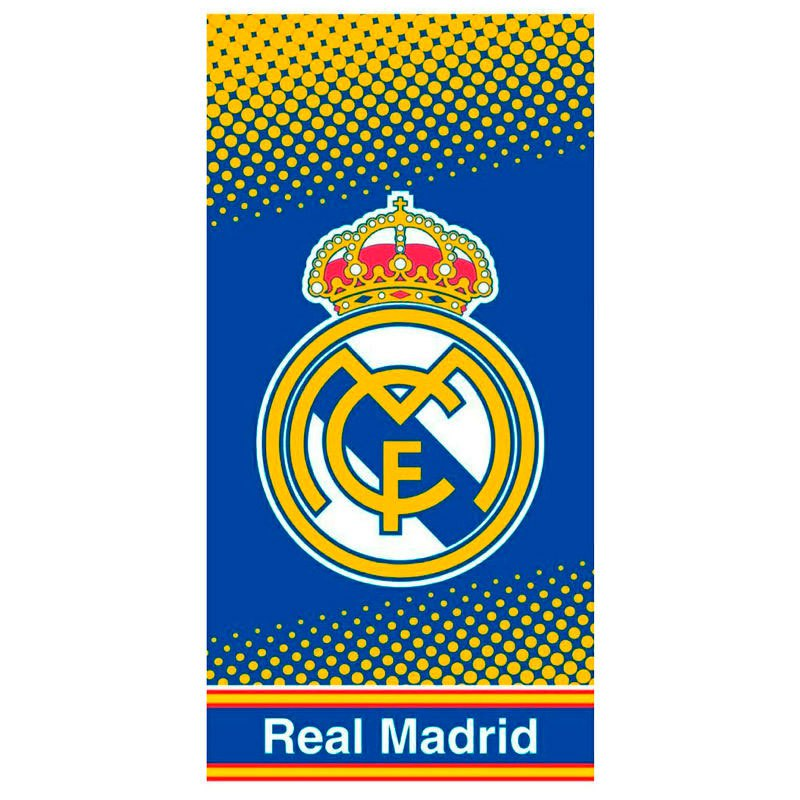 Real Madrid Microfibre One Size Blue / Yellow