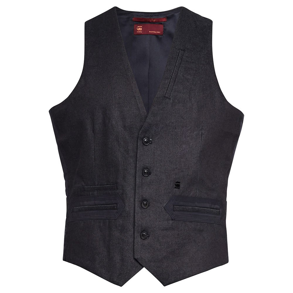 G-star Tuxedo Waistcoat S Raw Denim