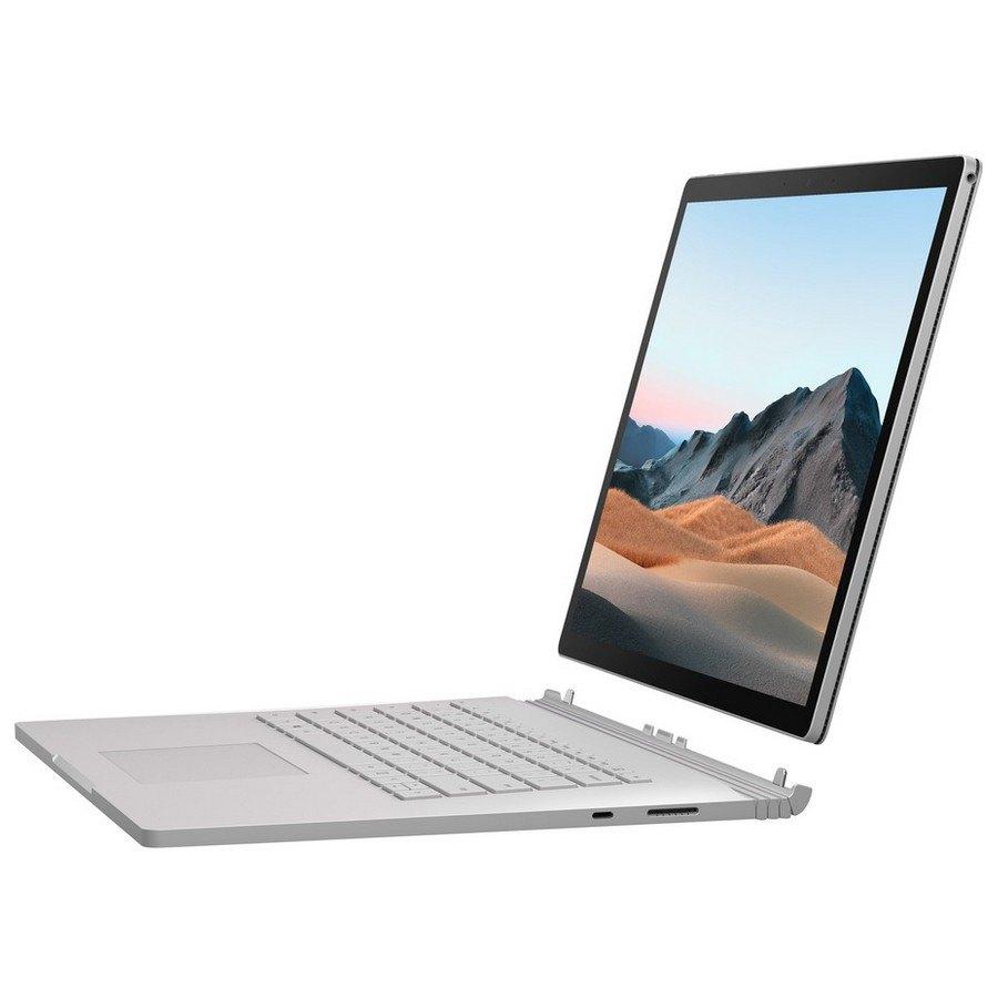 Portátil Microsoft Surface Book 3 15'' I7-8650u/16gb/256gb Ssd Spanish QWERTY Silver