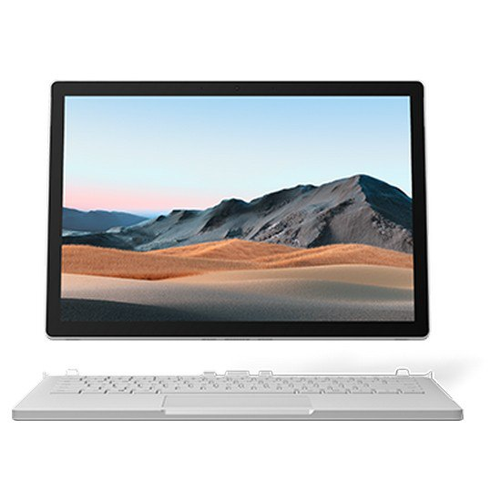 Portátil Microsoft Surface Book 3 13.3'' I7-1065g7/32gb/512gb Ssd Spanish QWERTY Silver