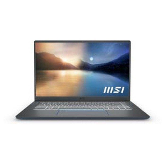 Portátil Msi Summ E15 A11scs-078es 15.6'' I7-1185g7/32gb/1tb Ssd/gtx1650 4gb Spanish QWERTY Black