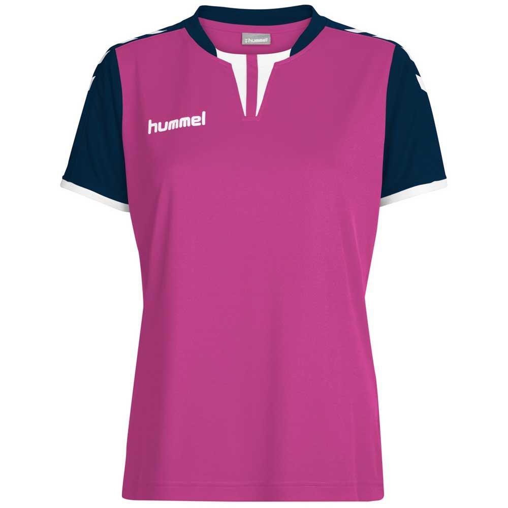 Hummel T-shirt Manche Courte Core XS Rose Violet / Marine Pr