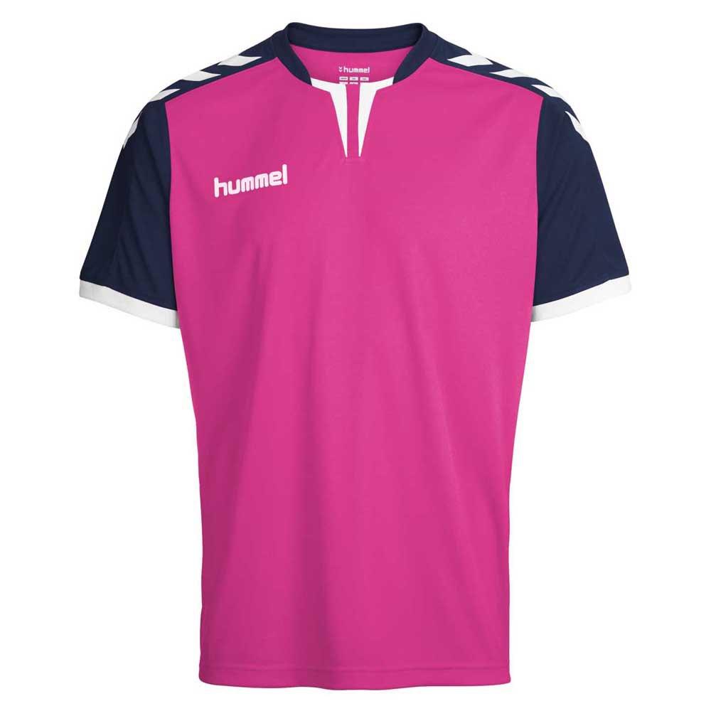 Hummel T-shirt Manche Courte Core Poly 116-128 cm Rose Violet / Marine Pr