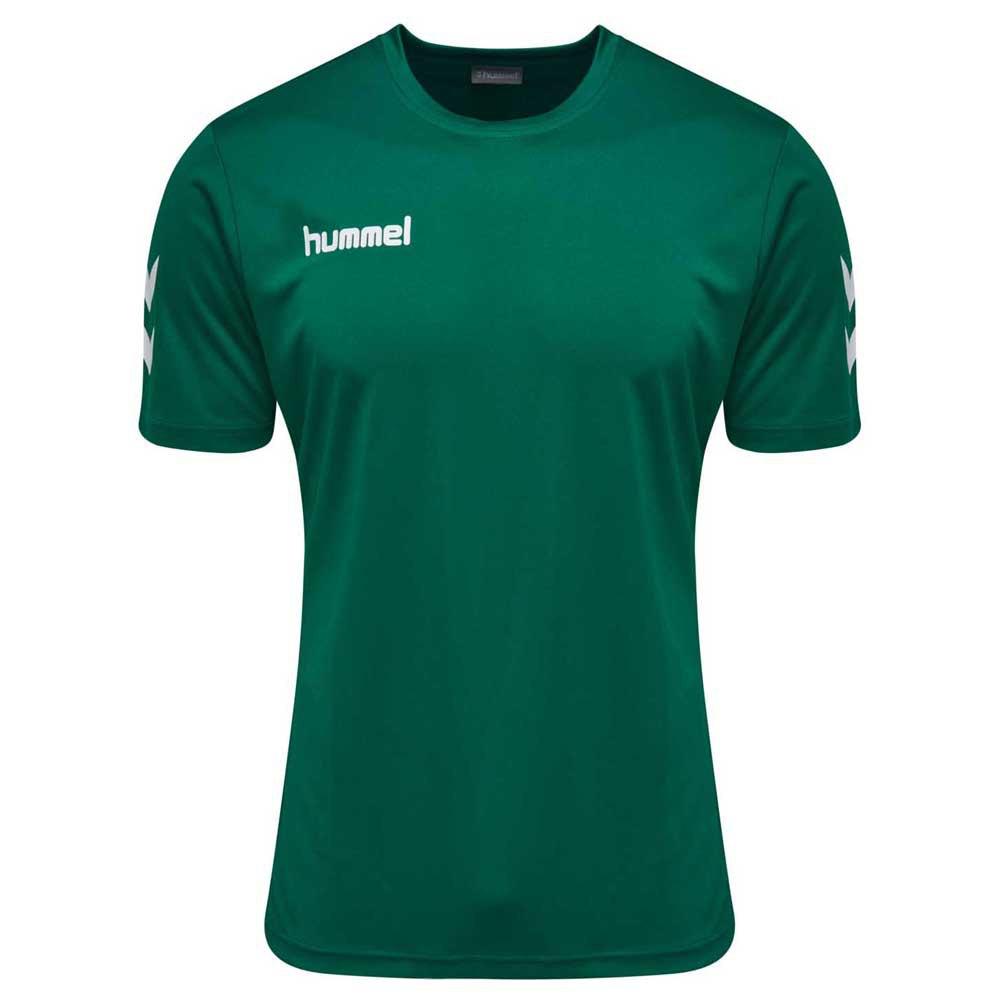 Hummel T-shirt Manche Courte Core Polyester 104 cm Evergreen