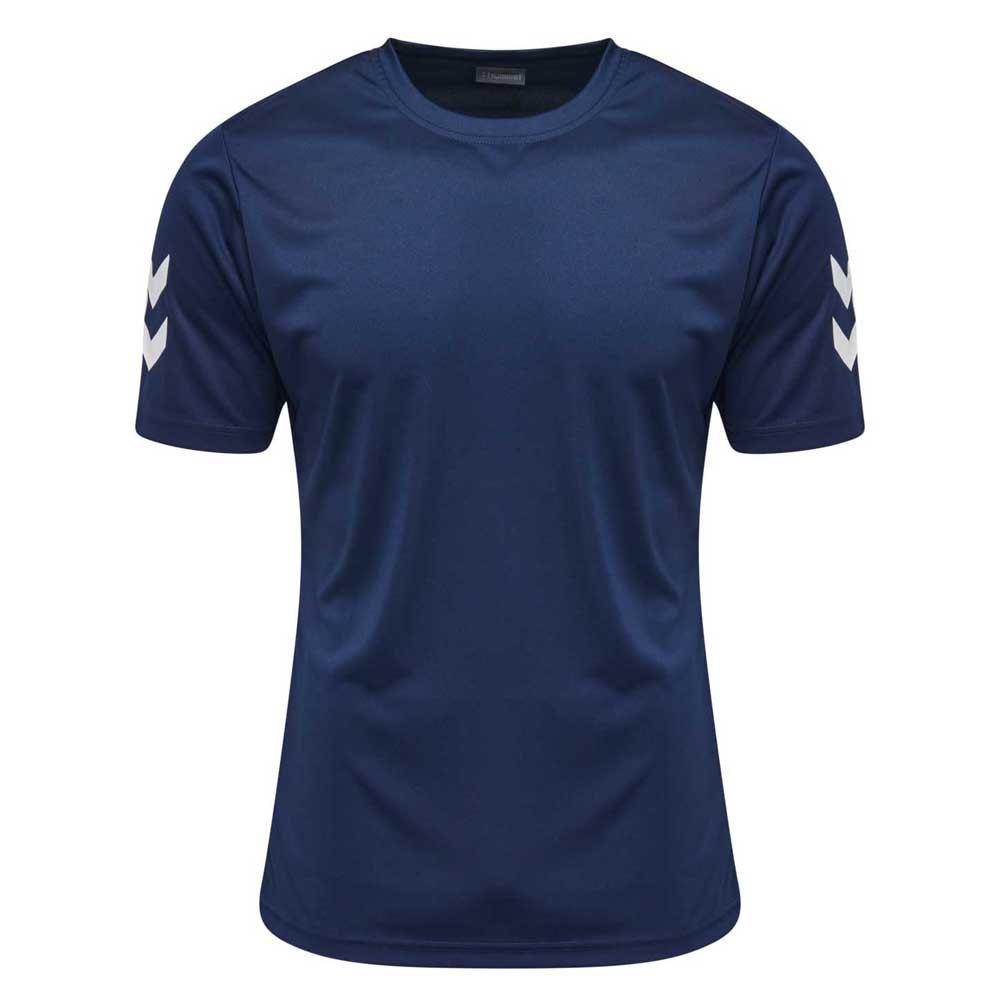 Hummel T-shirt Manche Courte Core Polyester 104 cm Marine