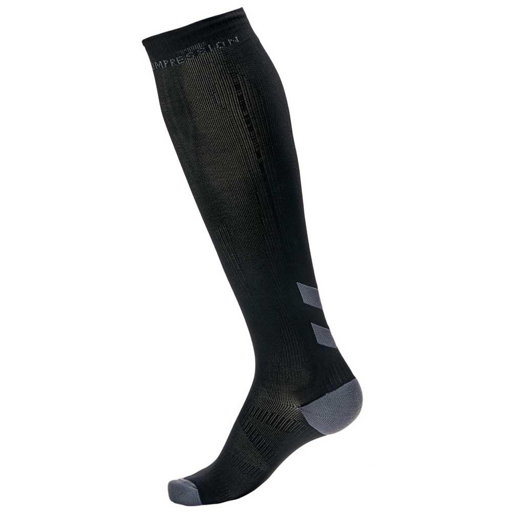 Hummel Elite Compression 25-31 cm Black / Asphalt