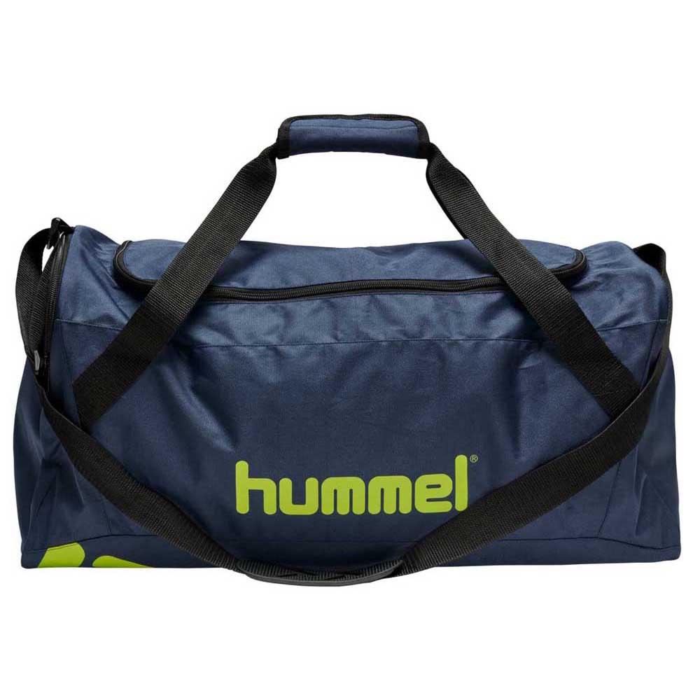 Hummel Sac Core Sports 20l One Size Dark Denim / Lime Punch