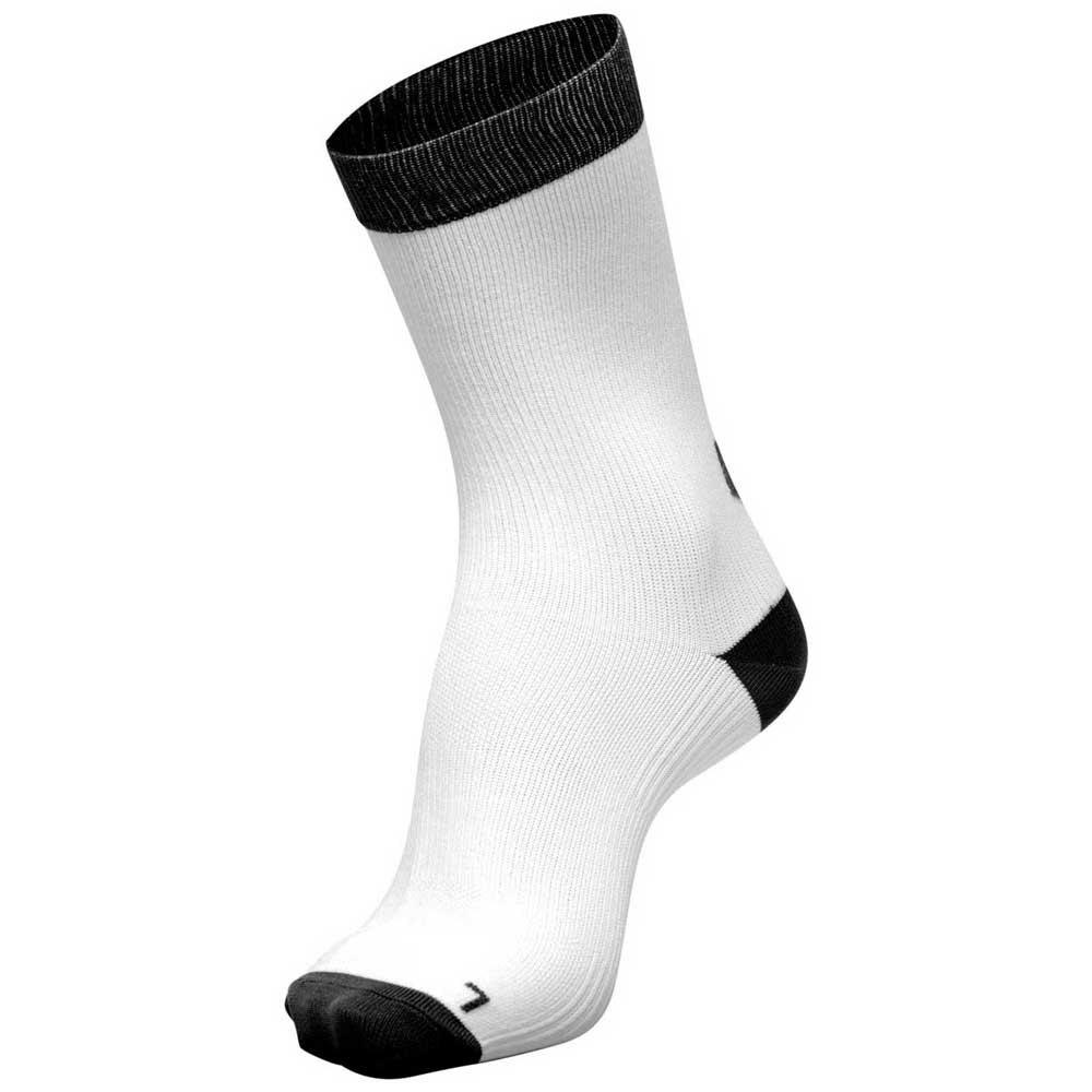 Hummel Chaussettes Element Indoor 2 Paires EU 31-34 White / Black