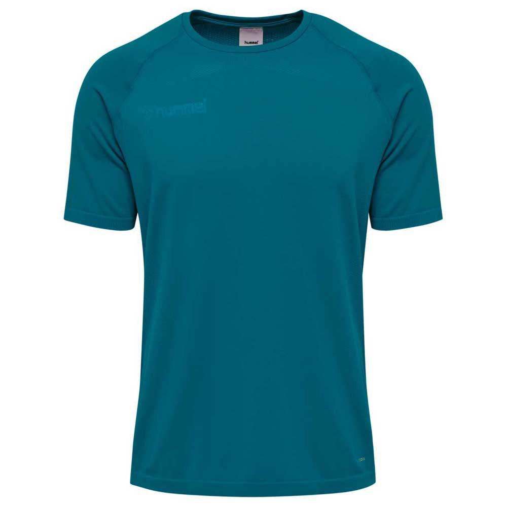 Hummel T-shirt Manche Courte Authentic Pro Seamless XS Celestial