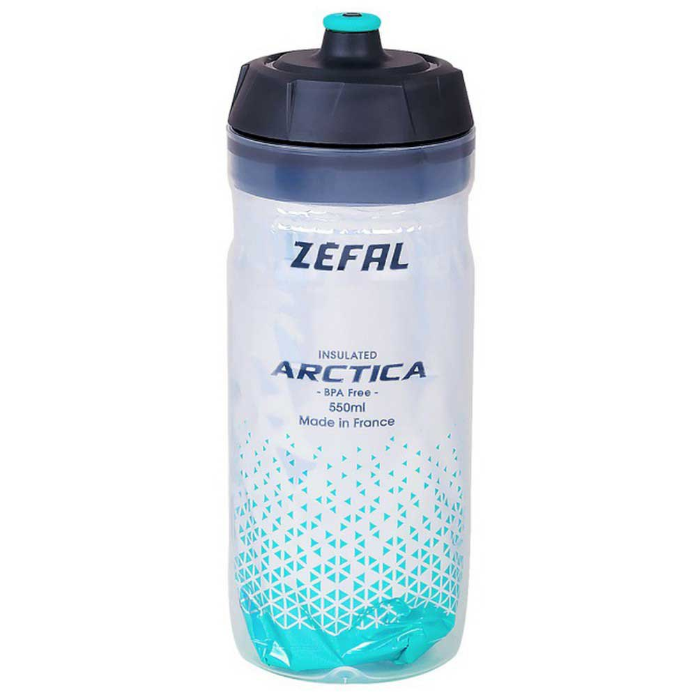 Zefal Insulated Arctica 550ml Water Bottle One Size Green