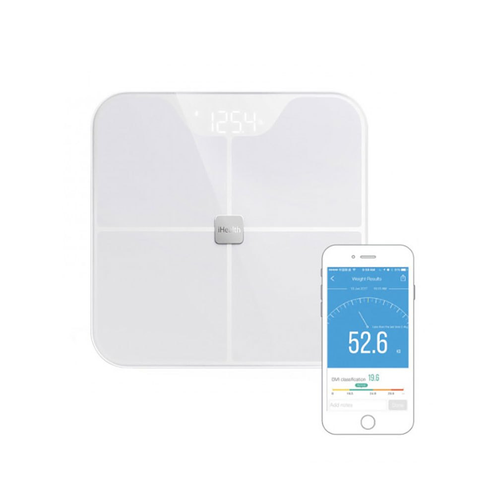 Ihealth Balance Bluetooth Fit One Size White