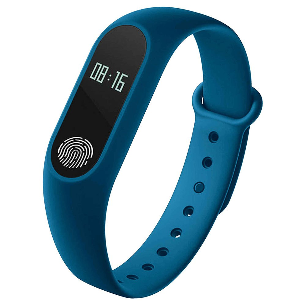 Myway Activity Band With Heart Rate Monitor One Size Blue