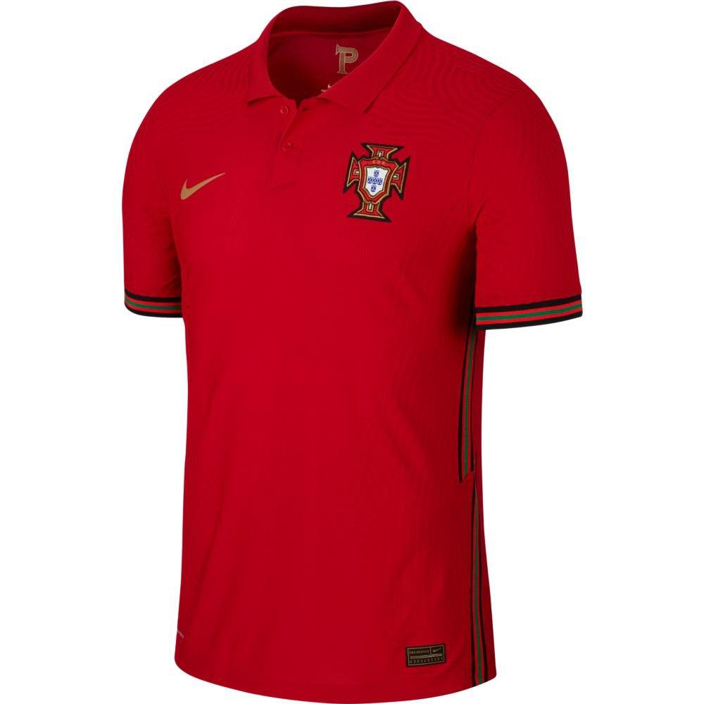 Nike Portugal Home Vapor Match 2020 XS Gym Red / Metallic Gold