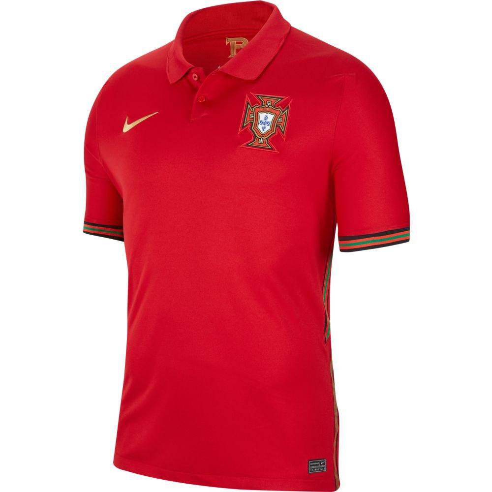 Nike Portugal Home Stadium 2020 XS Gym Red / Metallic Gold