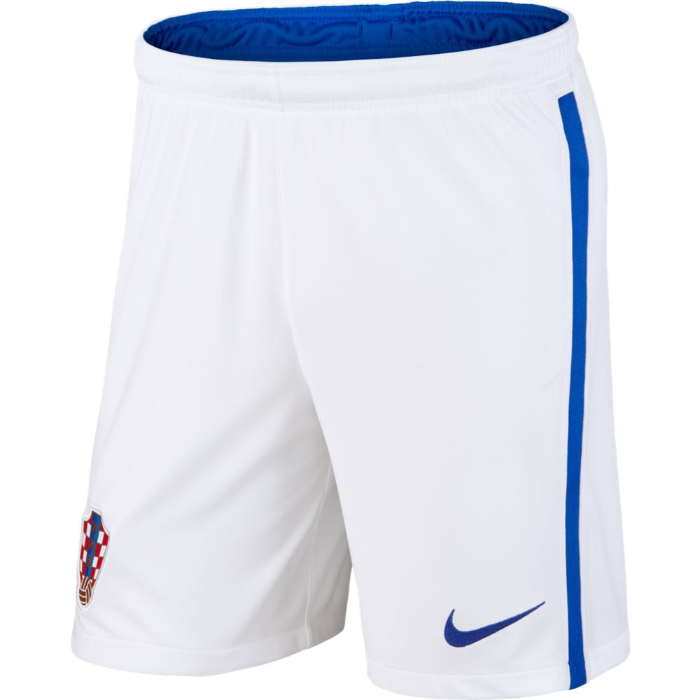 Nike Le Short Croatie Domicile/extérieur Breathe Stadium 2020 M White / Bright Blue