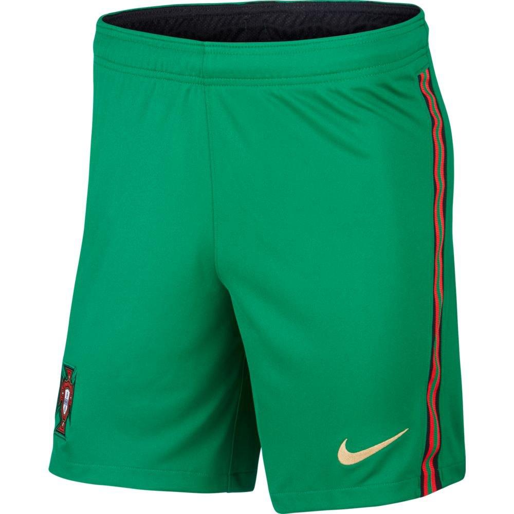 Nike Le Short Portugal Domicile Stadium 2020 M Pine Green / Metallic Gold