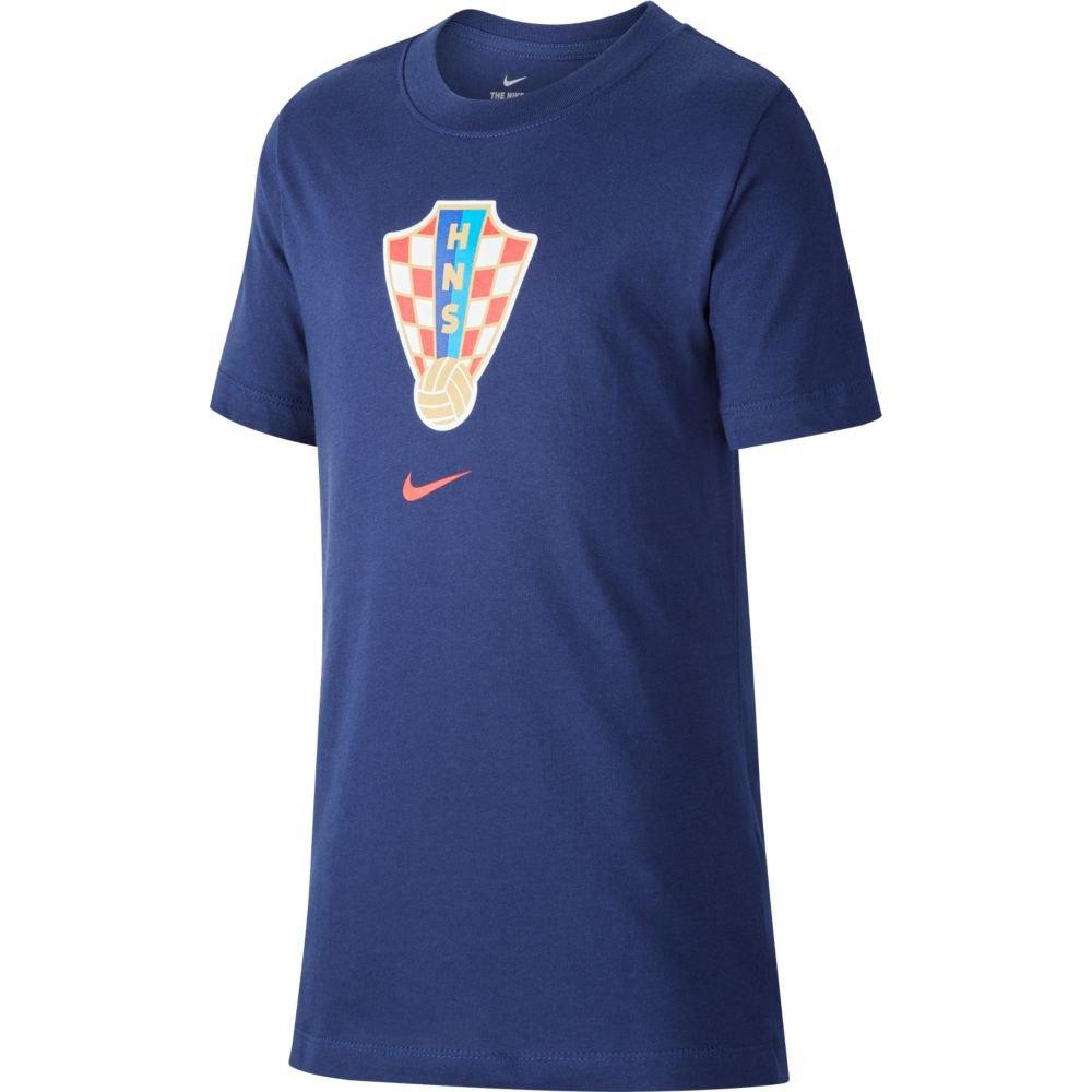 Nike T-shirt Croatie Evergreen Crest 2020 S Midnight Navy